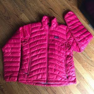 Patagonia Down Nano Puffers Jacket Hot Pink Sz M